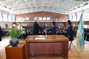 九里学園平成24年度入学式
