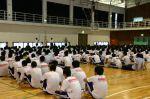 九里学園防災訓練