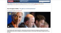 Spiegel: Lagarde sagt, dieses Politikdings gehe halt nur mit Erwachsenen.