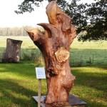 Outdoor Skulptur Dem Neuen Entgegen Kunst In Holzkunst In Holz