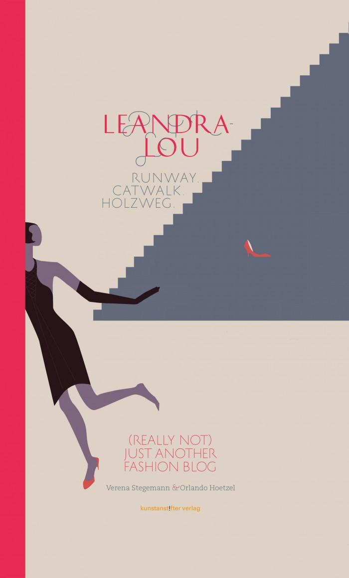 Leandra Lou von Verena Stegmann und Orlando Hoetzel, Cover mit freundlicher Genehmigung von kunstanstifter