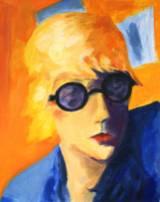 nach Elisabeth Peyton, 37 x 46cm, Öl auf Papier, 2007