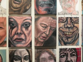 Erik Suidman, enkele van zijn 1300 portretten