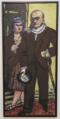 Max Beckman - Doppelportrait von Quappi und mir