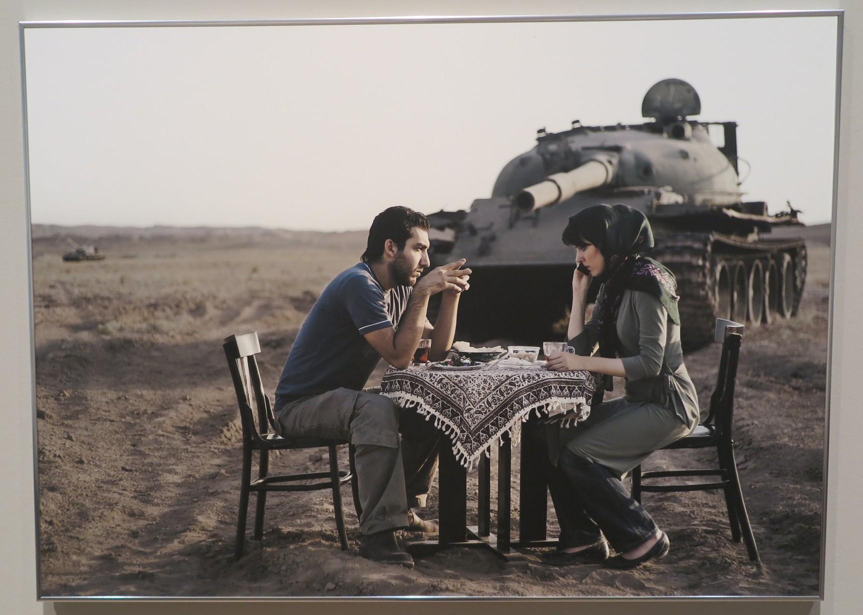 Gohar Dashti Todays life and war, 2008