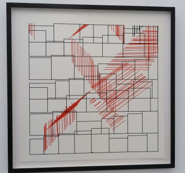 9.9.1965 nr. 1 : Frieder Nake - DAM Galery, Berlin