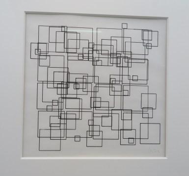 Square Structures, Vera Molnar - DAM galery Berlin