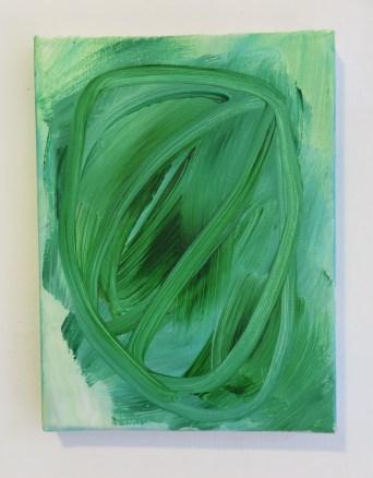 Infinite Memory - Jessica Skowroneck - 2015 - acryl op doek - 24x18 cm