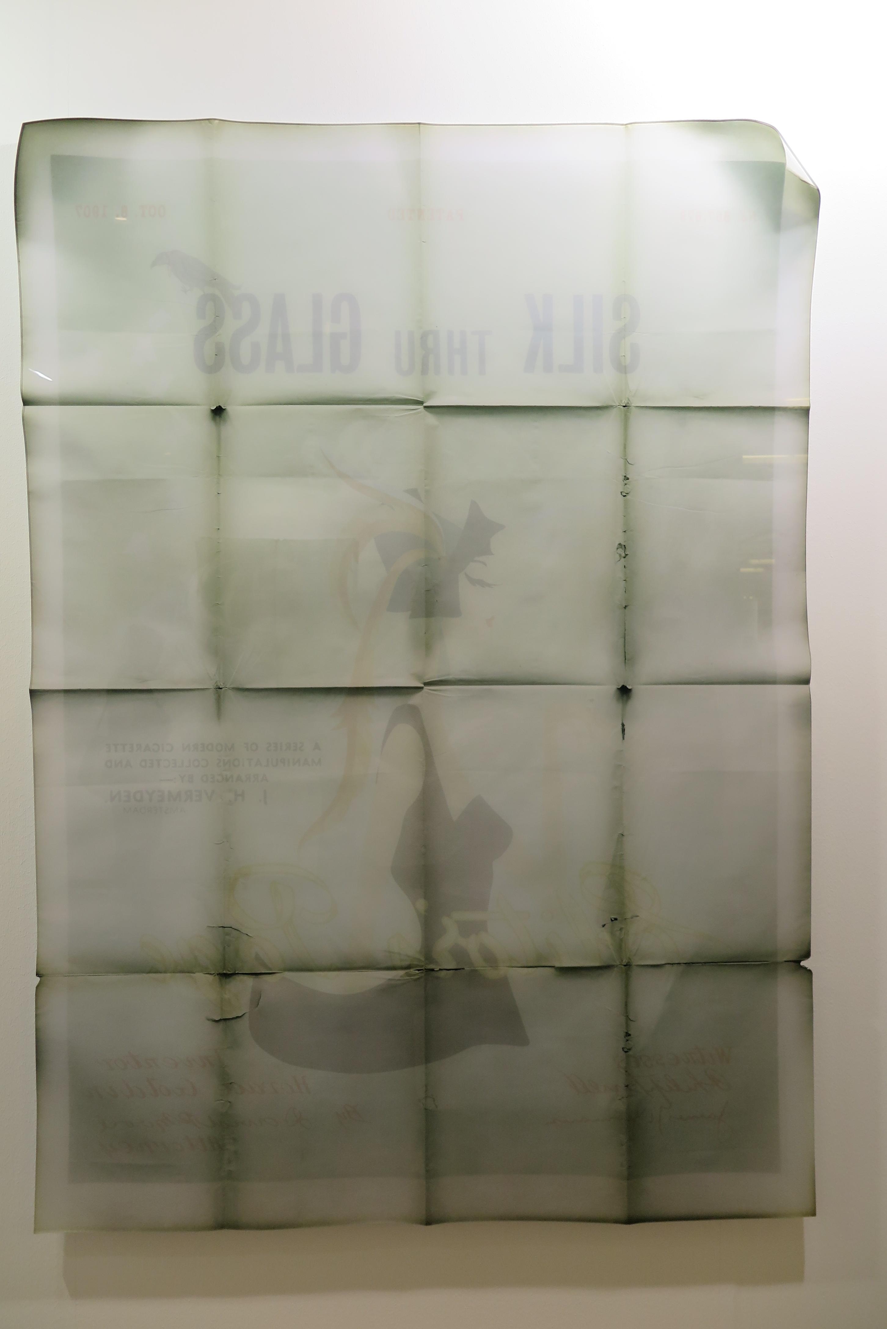 Lars Morell - untitled - ink on paper, shapcut diasec - 2015