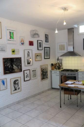 Een keuken als galerie