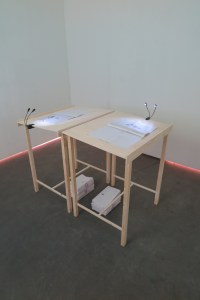 Onderdeel van installatie Kyle Tylehorn
