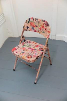 Rob Pruitt - graffity chair - 2014
