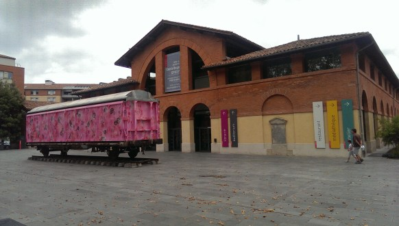 Ingang Les Abattoirs - Toulouse
