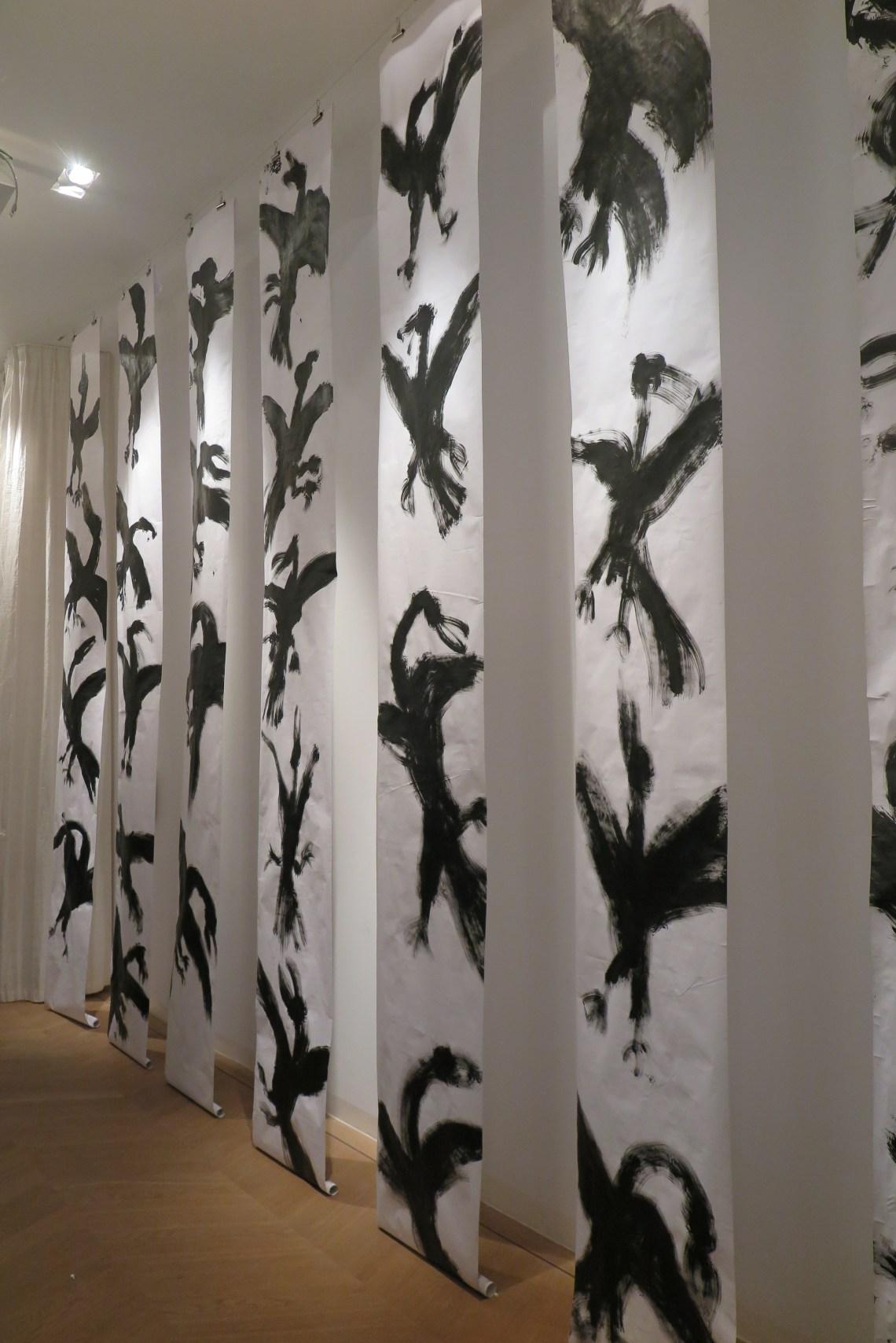 Judit Reigl - Oiseaux series - 2012