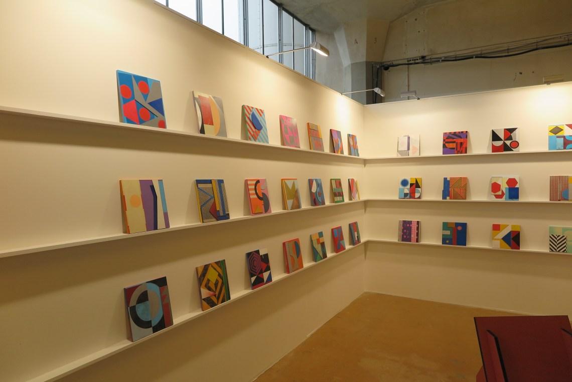 Art Rotterdam 2017 - Dominic beattie - Fold