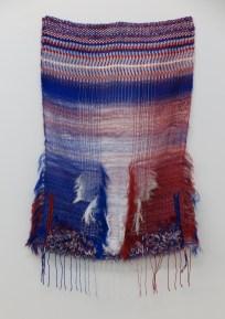 Geweven door een wever uit de draden van de Nederlandse vlag