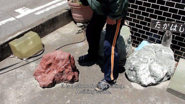 Still uit de video 'Blue Stone'