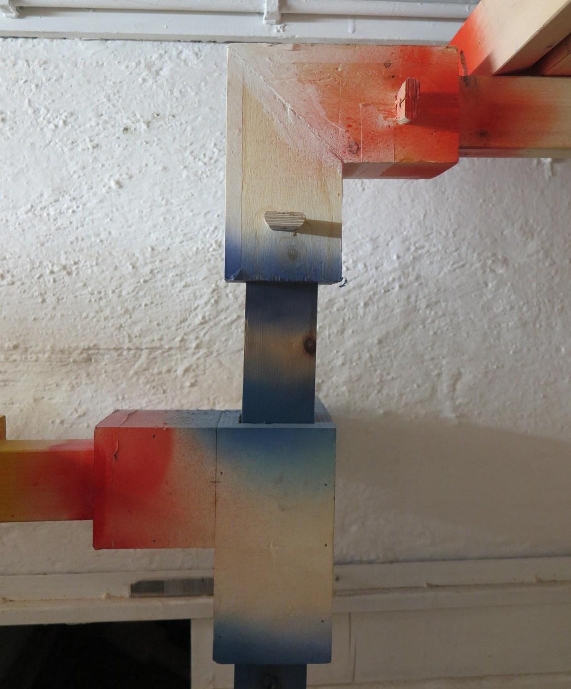 Boris Steiner - exBunker - detail constructie