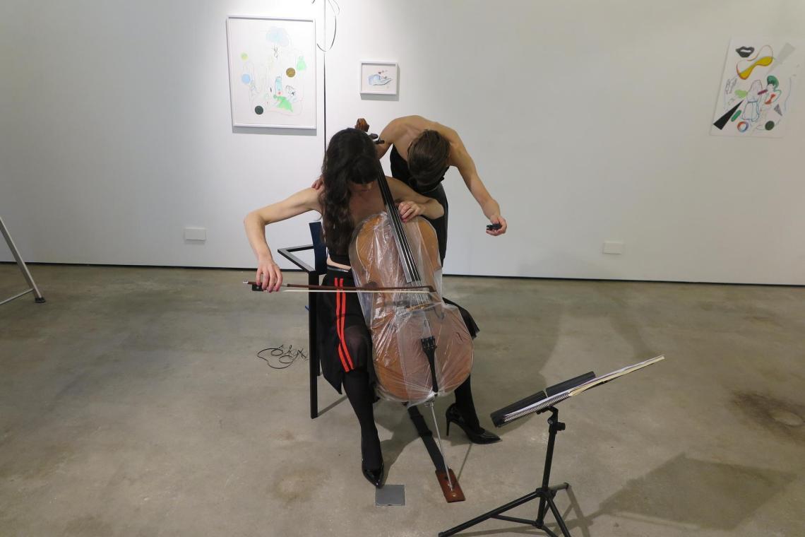 Performance The Swan - Emily Kocken