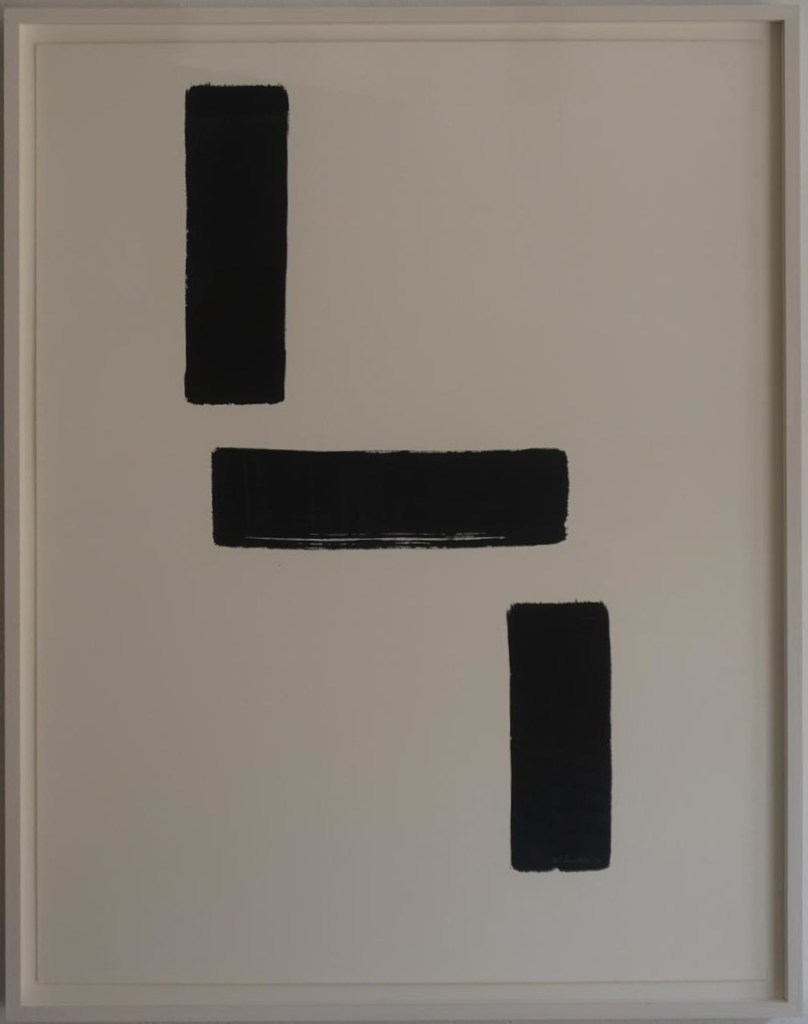 Composition, 1970, ink on paper.