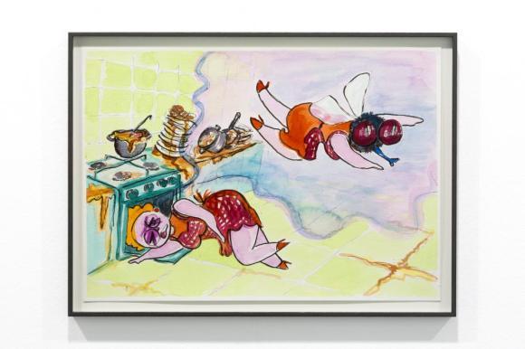 Puck Verkade - untitled; galerie: Durst Britt & Mayhew