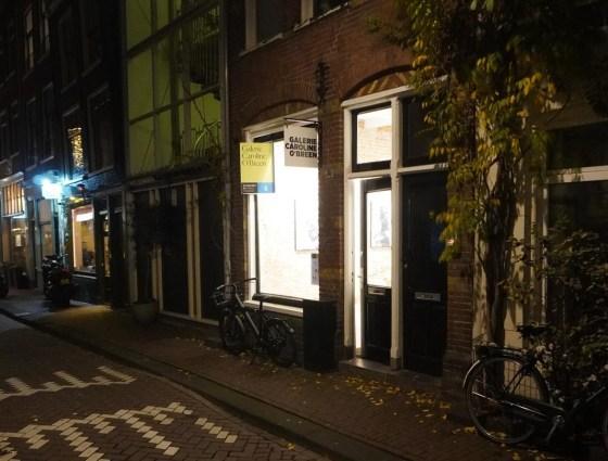 Galerie Caroline O'Breen by night