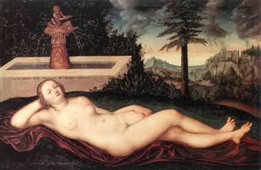 Lucas Cranach - Nymph