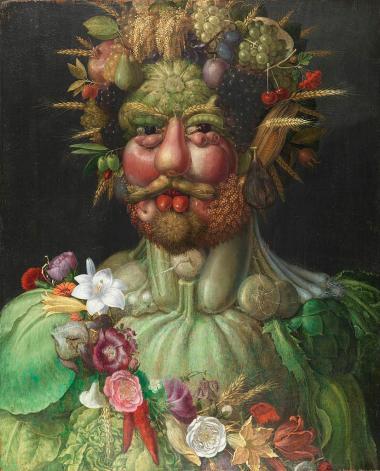 Rudolf II als Vertumnus - Giuseppe Arcimboldo