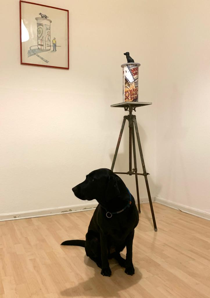 """Hoher Besuch: Das Modell für """" HundeRunde"""" ist vor Ort !!!"""