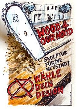 wood 4 our hood