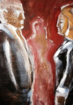 Busy Close Up (Detail), 183x78, 1200 €