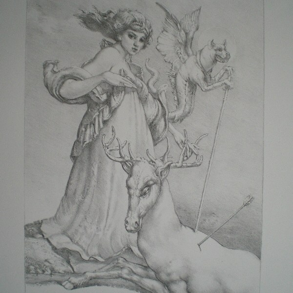 Eberhard Lenk, Diana mit Actaeon