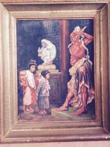 Franz Kienmayer, NARA, Gouache, 45 x 35 cm
