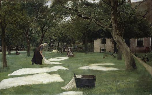 The Bleaching Ground van Liebermann