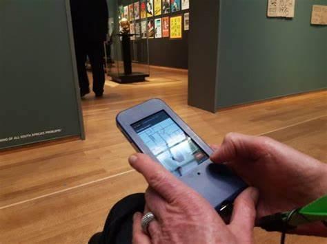 museumbezoeker Rijksmuseum De Goede Hoop