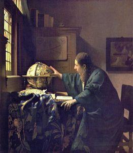 De Astronoom - Vermeer