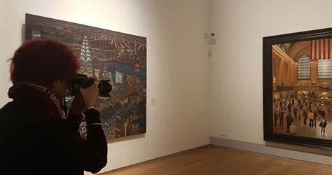 Museumbezoeker Kunsthalle Emden
