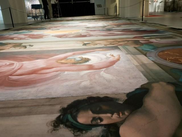 Michelangelo - Fresco Sixtijnse Kapel