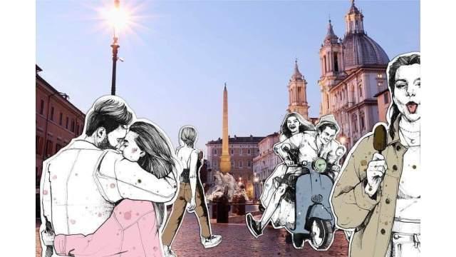 Rome-Sara Paglia