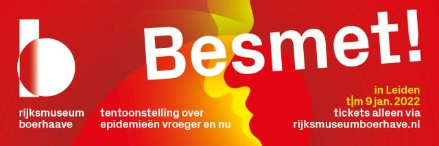Campagnebeeld tentoonstelling Besmet! in Rijksmuseum Boerhaave