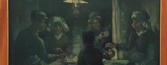 De aardappeleters Kroller Muller Museum