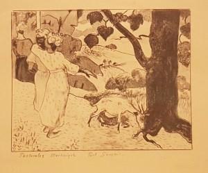pastorales uit de prentenserie Volpini