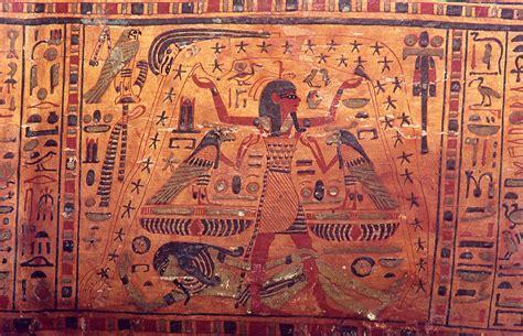 Detail Mummiekist van Amenhotep