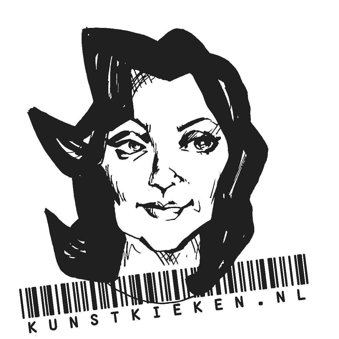 logo kunstkieken streepjescode