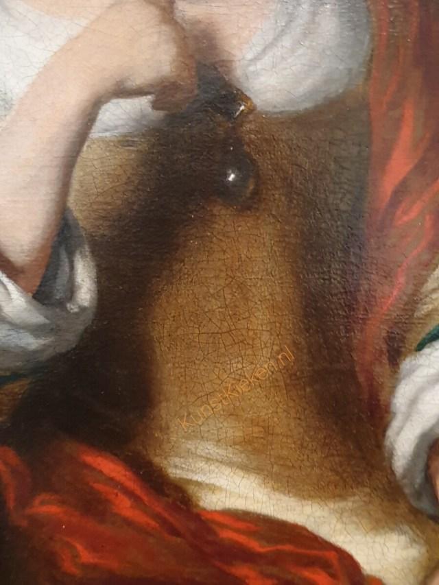 Portret van een overleden kind- Maes