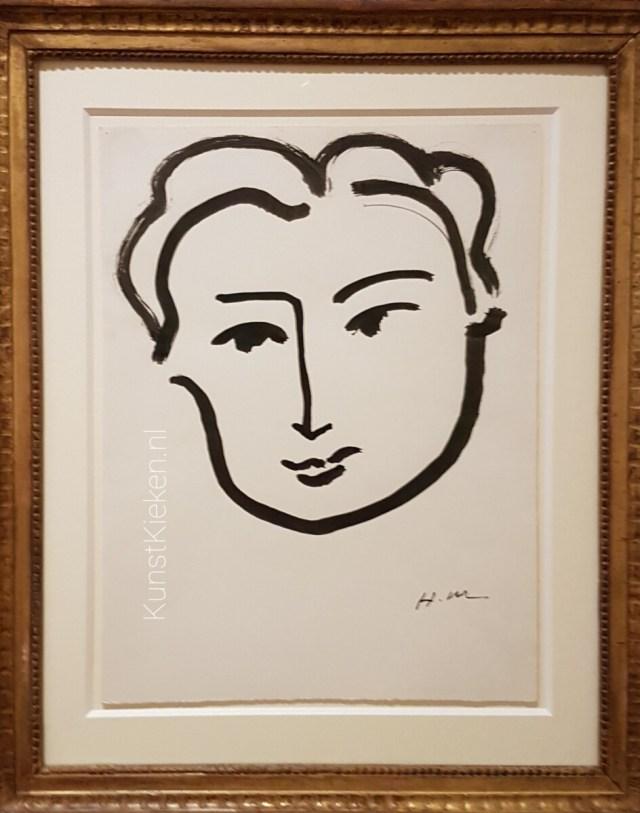 Head of a Women - Matisse