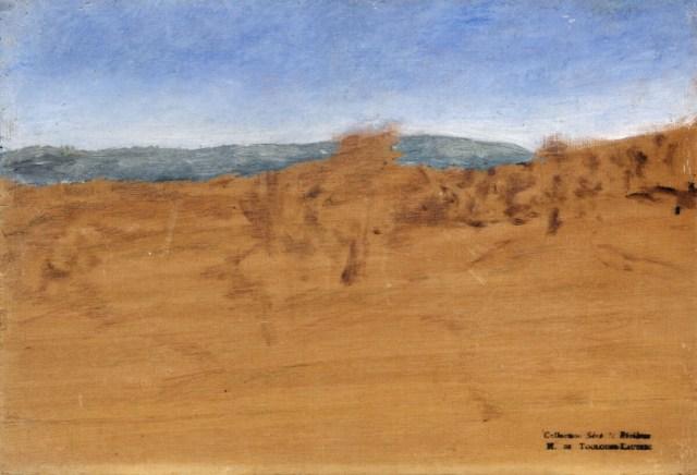Henri de Toulouse Lautrec - Landschap met duinen bij Arcachon