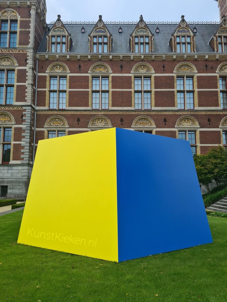 Yellow Blue (1968) - Ellsworth Kelly