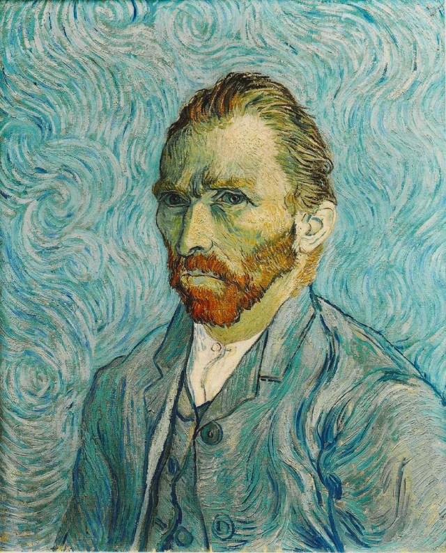 Zelfportret 1889 - Van Gogh