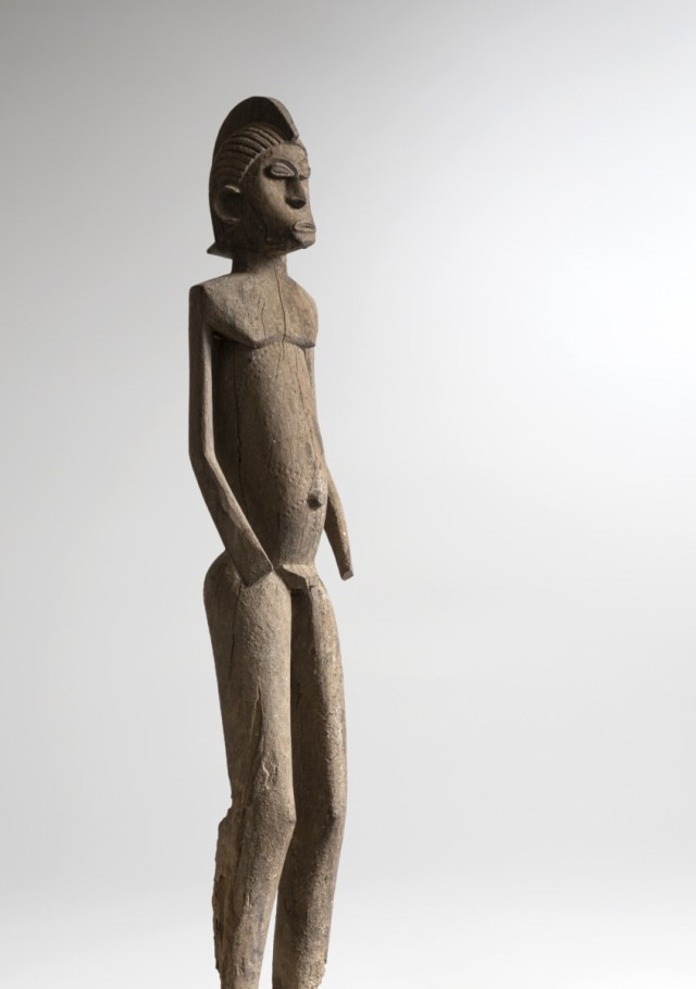 Figure Masculine d'antcetre - Galerie Afrique